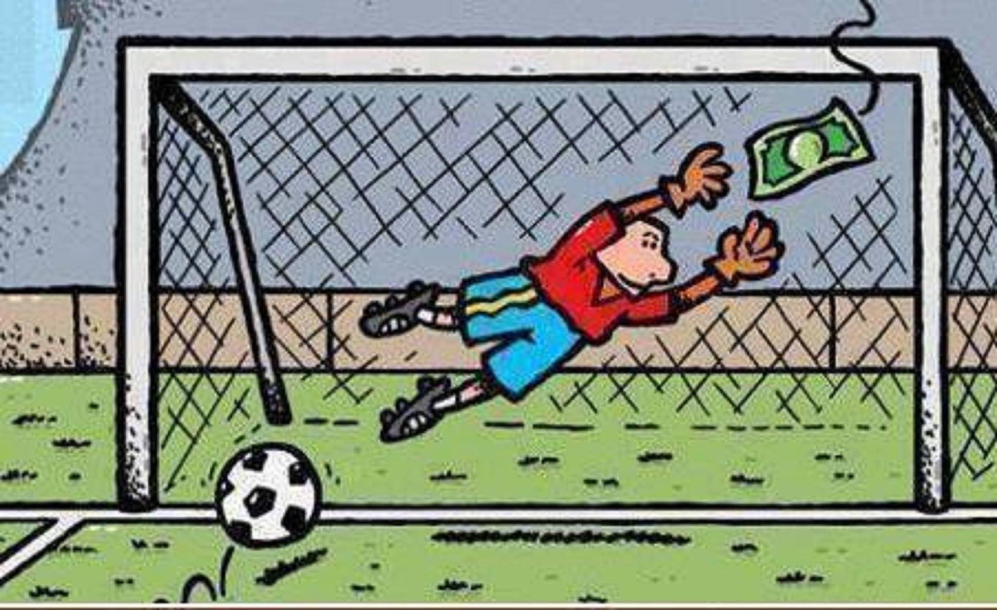 Over voetbal en geld…